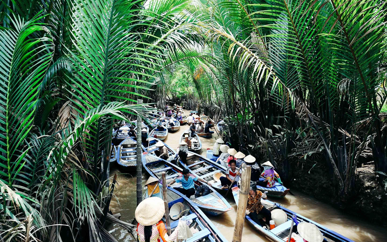 베트남 메콩강