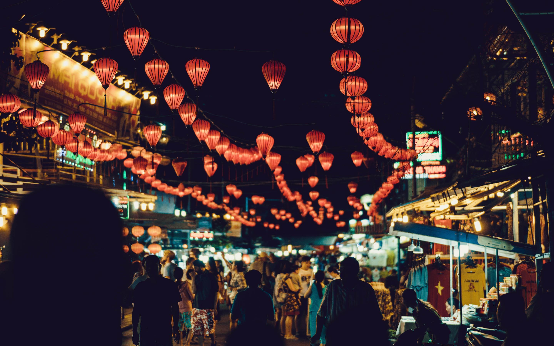 호이안 빛초롱 축제