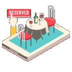 식당예약 / 식사권