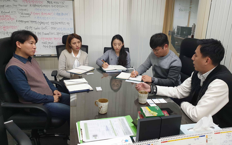티그룹 및 한국 여행 카페