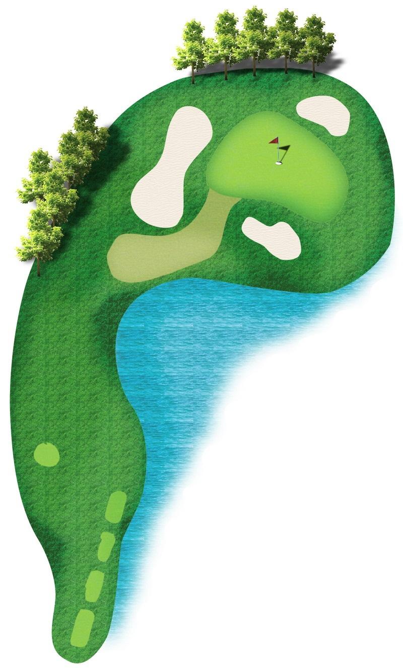 킹스 아일랜드 골프 클럽 - 레이크 사이드