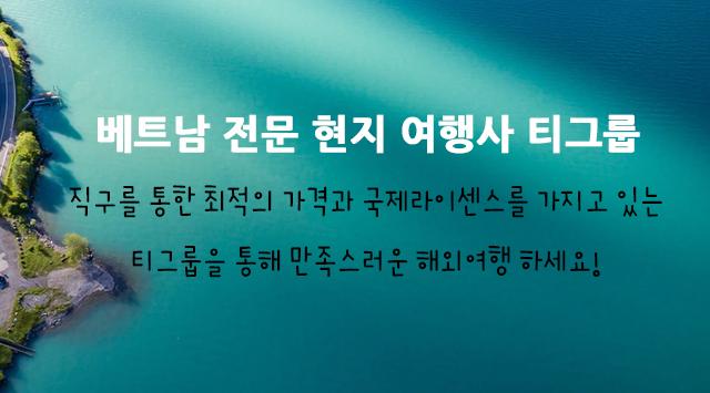 베트남 전문 현지 여행사 티그룹